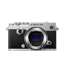 Olympus PEN-F 20.3 MP Digital Camera (Silver)  Only Body