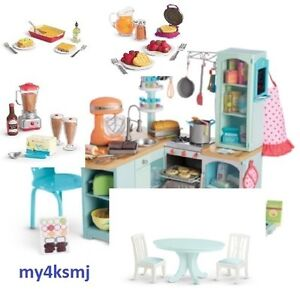 American Girl Doll Gourmet Kitchen Set