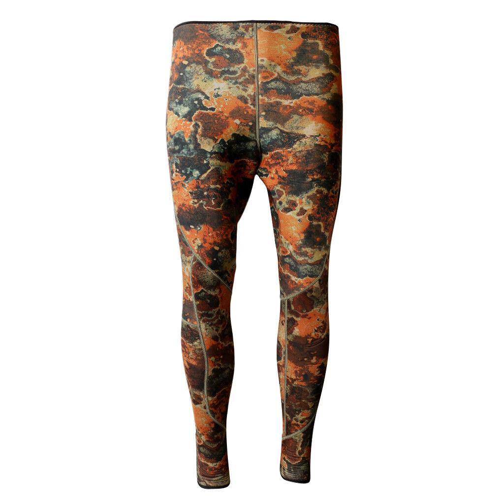 3mm Neoprene Surfing Diving Snorkel Wetsuit Pants Trousers Swim Leggings L