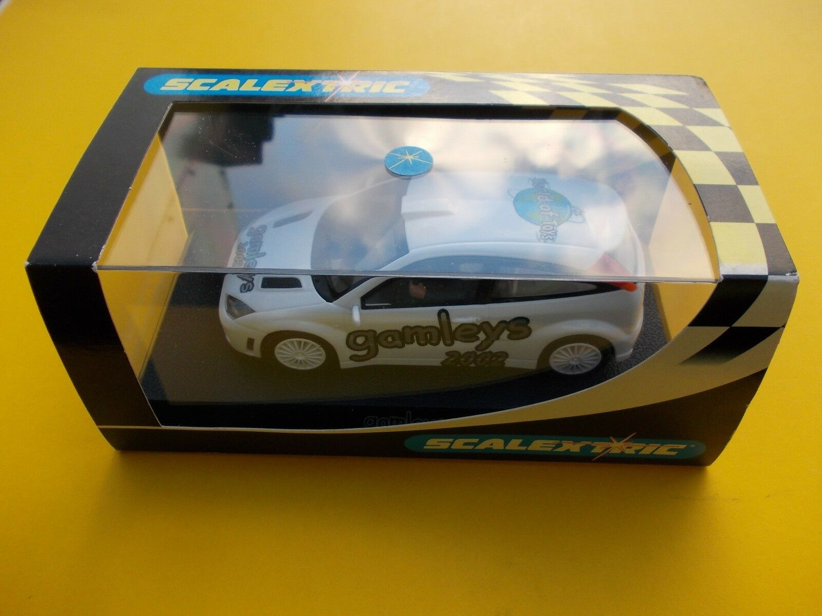 VINTAGE SCALEXTRIC C2471B FORD FOCUS GAMLEYS L  EDITION MINT BOXED  BRAND NEW