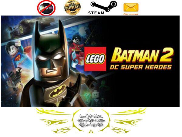 Lego Batman 2 Dc Super Heroes™ PC Digital Steam Key - Region Free