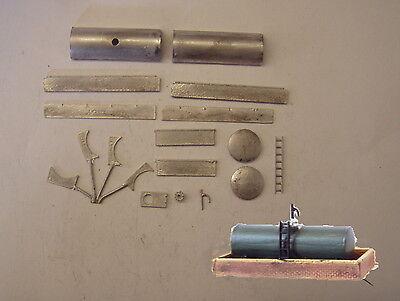 P&D Marsh N Gauge N Scale B205 Diesel fuel storage tank kit requires painting