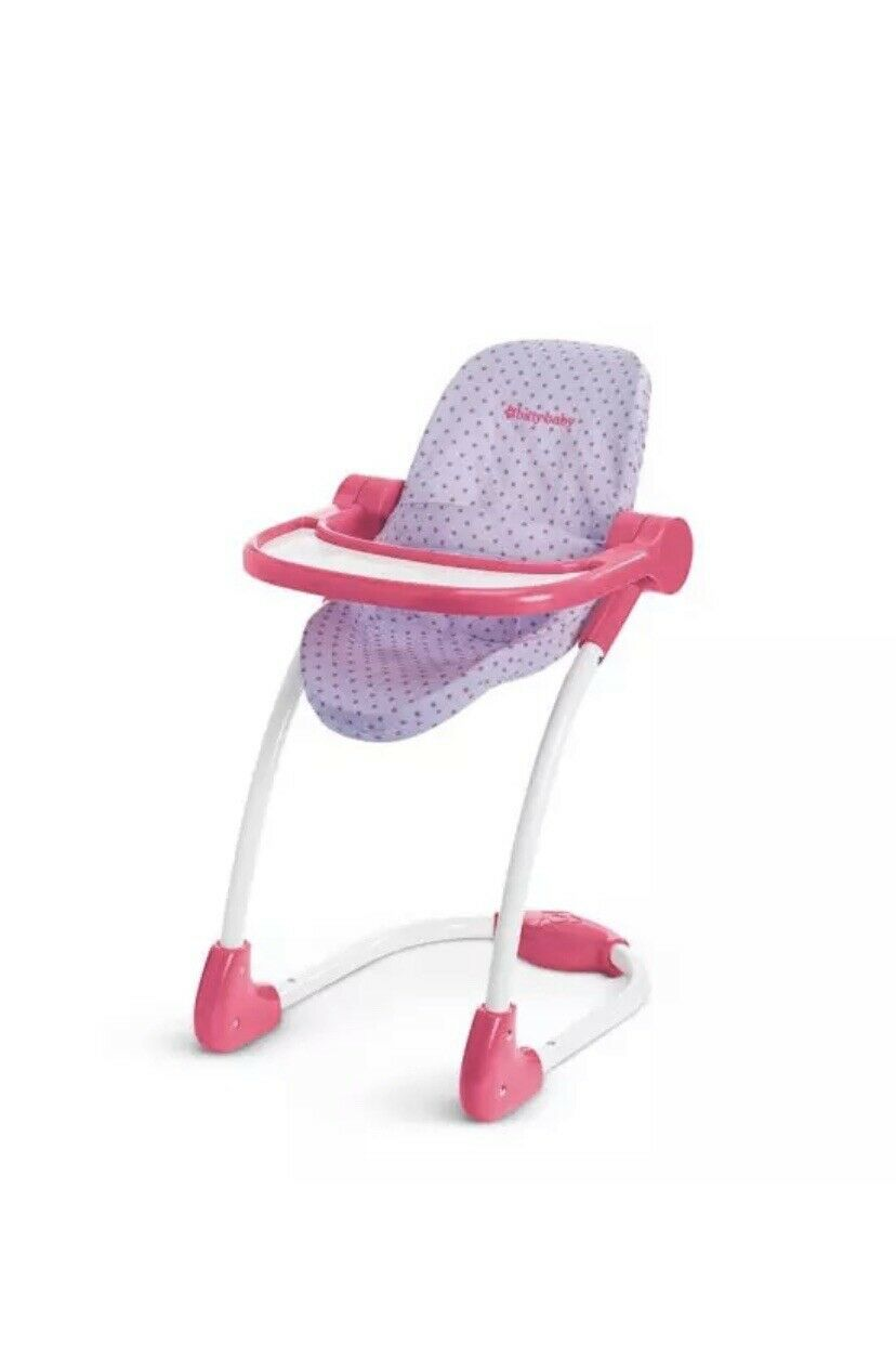 American Girl Bitty Baby High Chair for Doll New
