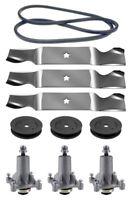 Husqvarna Lgt2554 54 Mower Deck Parts Rebuild Kit Spindles Blades Free Shipping