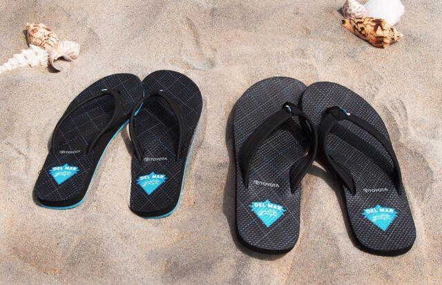 49dd234a9d6b NWT Del Mar RaceTrack Cobian best Aqua Jump sandal Flip Flops WOMENs Medium  8-
