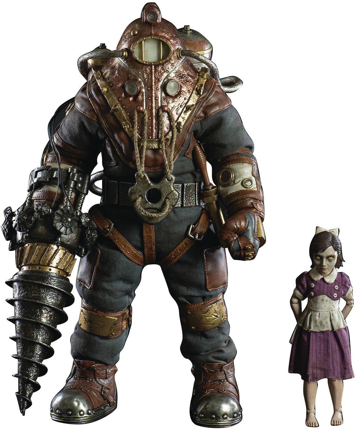 Bioshock 13 pulgadas figura serie 1 6 escala sujeto Delta & hermanita