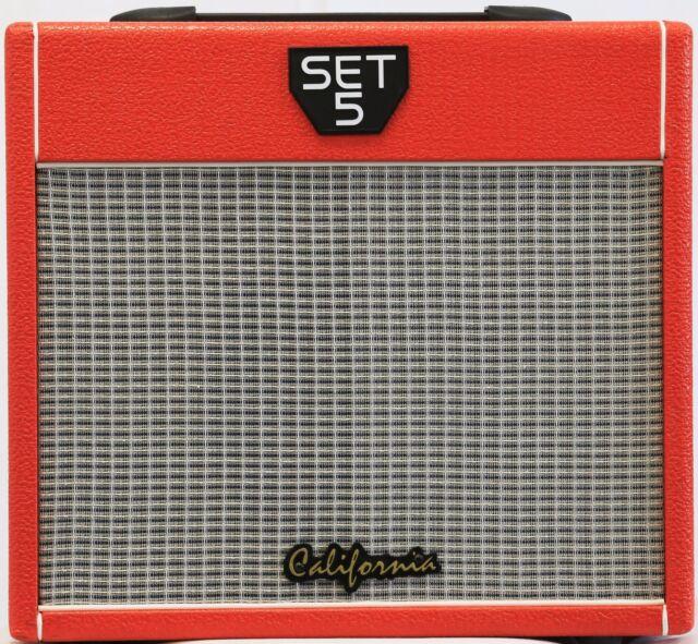 california electric guitar amp all tube red set 5rd for sale online ebay. Black Bedroom Furniture Sets. Home Design Ideas