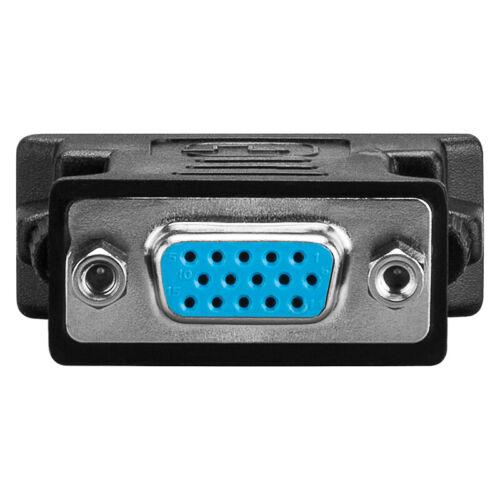ANALOGICO DVI//VGA ADATTATORE; DVI 24+5 maschio /> VGA 15 Pin Presa