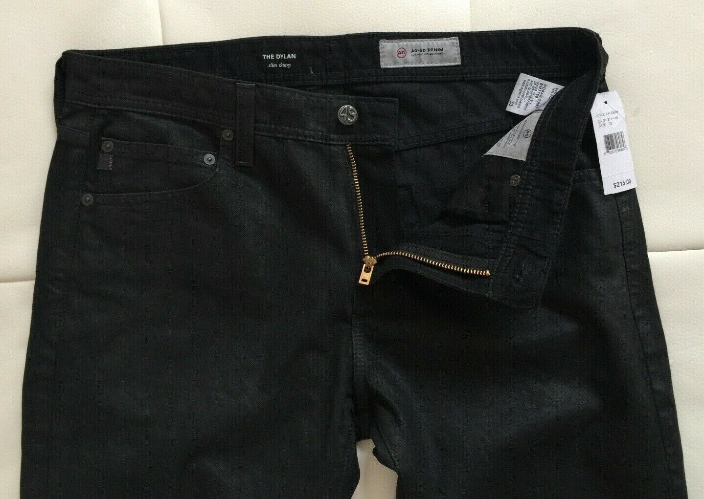 NWT - Adriano goldschmied The Dylan Slim Skinny Jeans(Size - 33X32  Made in USA)