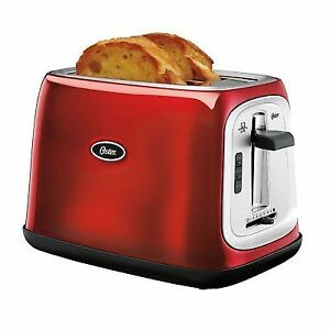 Oster-2-Slice-Toaster-Metallic-Red-TSSTTRJB07-Kitchen-Appliance-New