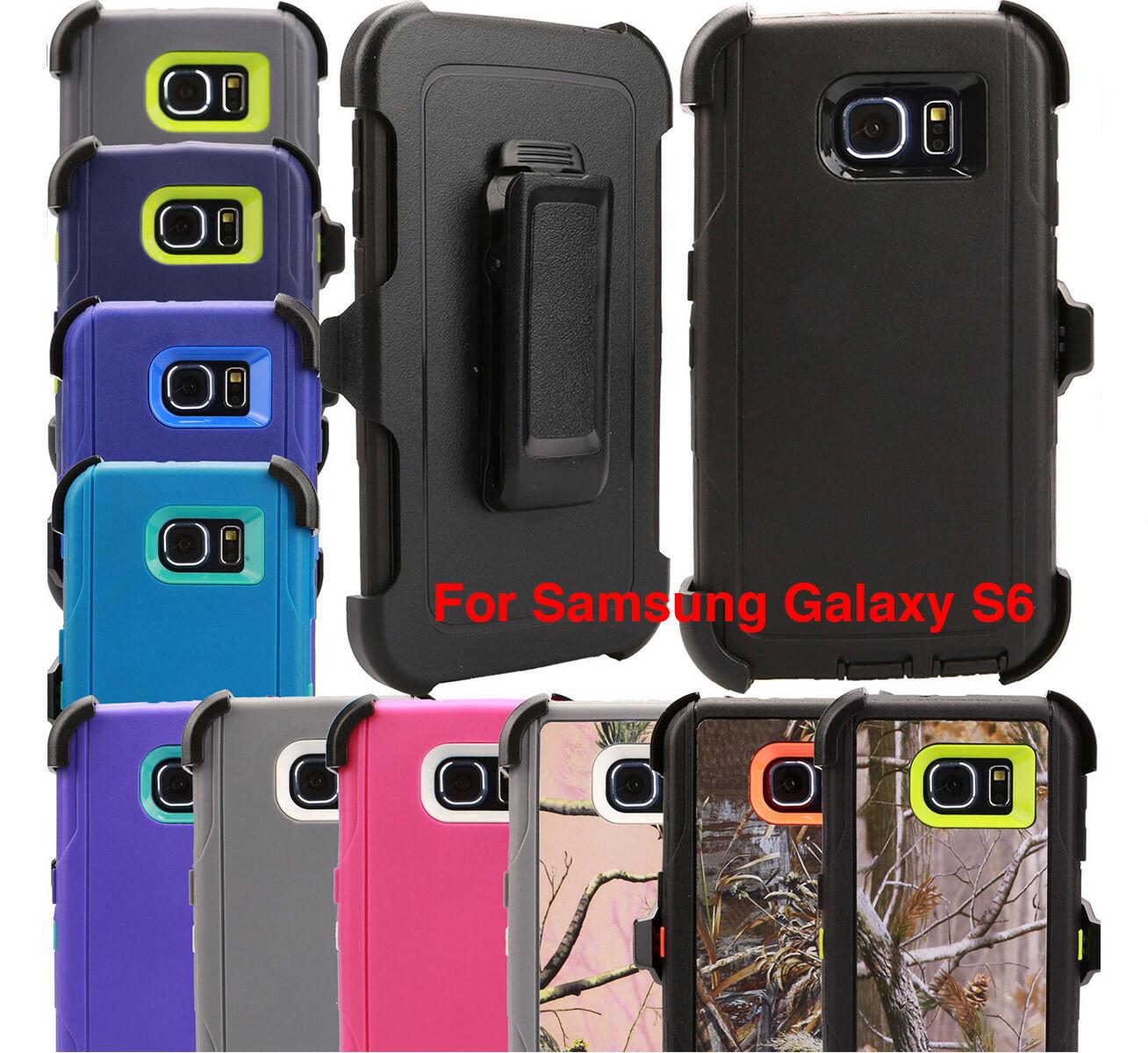 For Samsung Galaxy S6 Regular Case (Belt Holster Fits