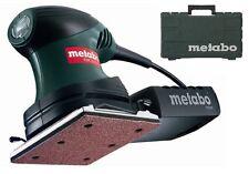"Metabo 200W 1/4 ""ELECTRIC dettaglio Palm LEVIGATRICE ORBITALE fogli levigatura strumento FSR 200"
