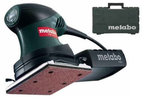 "METABO 200W 1//4/"" ELECTRIC DETAIL PALM SANDER ORBITAL SHEET SANDING TOOL FSR 200"