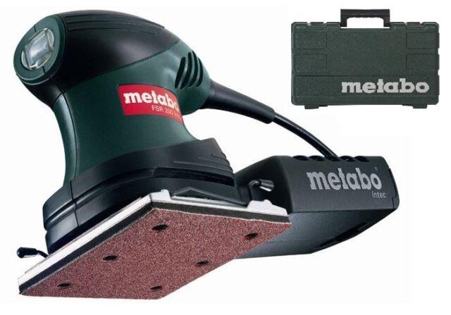 "METABO 200W 1/4"" ELECTRIC DETAIL PALM SANDER ORBITAL SHEET SANDING TOOL FSR 200"