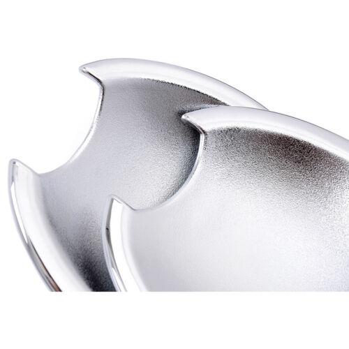 For Nissan Qashqai Dualis 2007-2013 ABS Chrome Door Handle Bowl Cover Trim