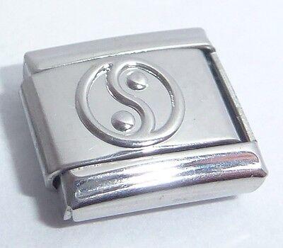 fits 9mm Classic Starter Bracelets Harmony Peace Love YIN YANG Italian Charm