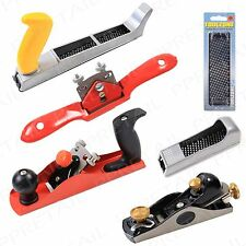 WOODWORKING TOOLS Spoke Shave Block Planer Wood Carpentry Scraper Shaper Kit Set