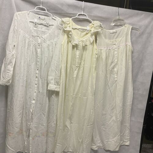 Lot Of 4 Eileen West Nightgowns