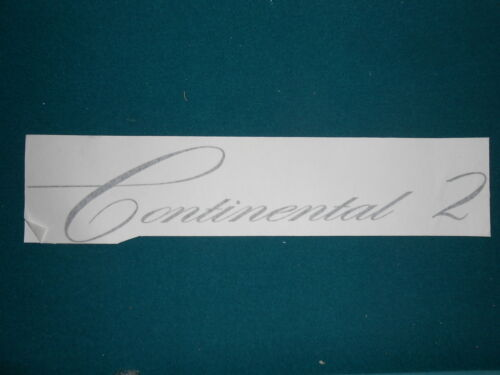 AMI CONTINENTAL 2 VINYL OVERLAY FOR FRONT GLASS