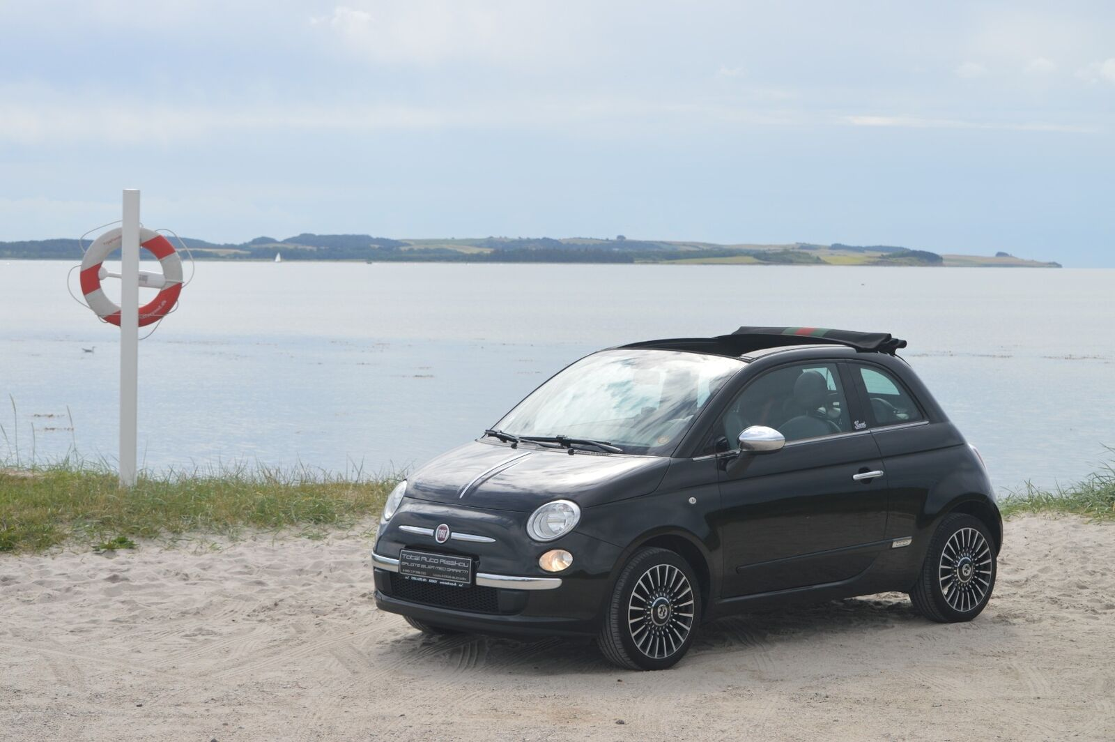 Fiat 500C 1,2 by Gucci 2d - 104.500 kr.