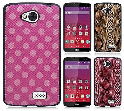 For MetroPCS LG Optimus F60 TPU CANDY Hard Gel Flexi Skin Case Cover Accessory