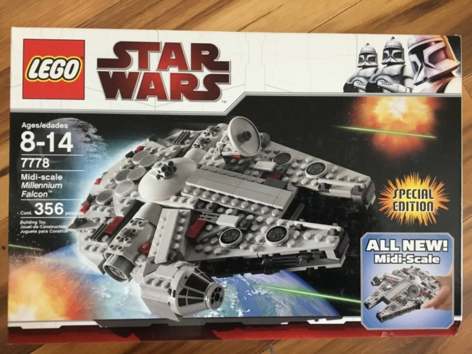 LEGO Star Wars Midi-scale Millennium Falcon BRAND NEW in box ages 8-14 NIB