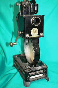 PATHESCOPE-BABY-9-5mm-VINTAGE-MOVIE-PROJECTOR-100-YEARS-OLD-RESTORE-OR-DISPLAY