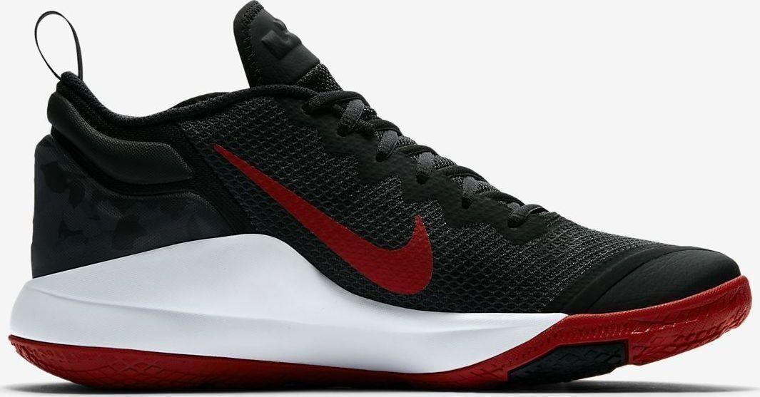 Nike lebron zeuge ii fitnessstudio basketball - schuhe, schwarze männer fitnessstudio ii rot 942518 006 6d9727