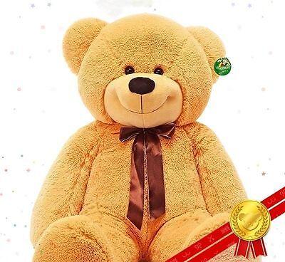 Brown Teddy Bear Plush Soft Toys 72/'/' Giant Big Pillow Best Birthday Gifts 180CM