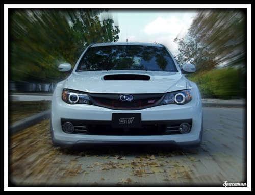 Subaru WRX STi Rubber Front Valance Add-On Trim Chin Lip Under Spoiler Splitter