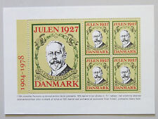 Denmark Christmas Seal 1978. Block Reprint of 1927 75 year anniversery