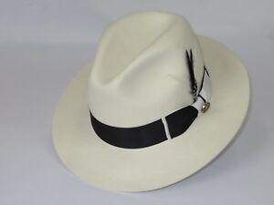 5258203f515 Image is loading Men-Bruno-Capelo-Dress-Hat-Australian-Wool-Pinch-