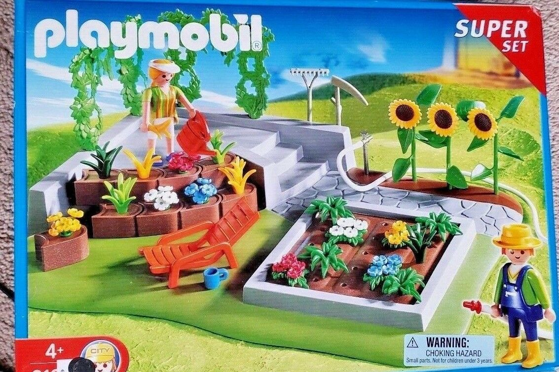 Playmobil Garden Super Set 31349   qualità autentica