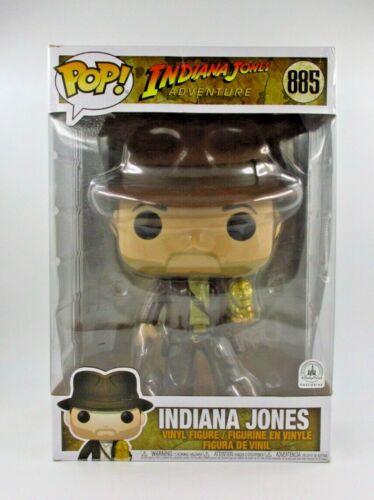 "10/"" SUPER SIZED INDIANA JONES DISNEY PARK EXC #885 *UK STOCK* DISNEY FUNKO POP"