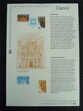 FRANCE UNESCO POLEN BISON BISONS WISENT WISENTE ETB DOCUMENT z763
