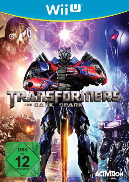 Transformers: The Dark Spark (Nintendo Wii U, 2015, DVD-Box)