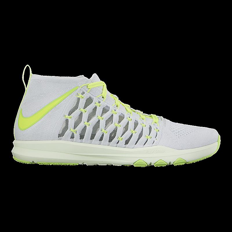 official photos 2b287 2f39a Hombre SZ 7.5 Flyknit gris   verde tren ultrarrápido ultrarrápido  ultrarrápido de Nike zapatillas 843694 006