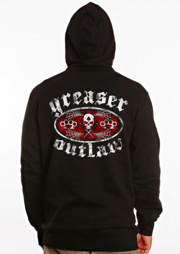 Biker Nero Avec Hors Luck13 Dragstrip TᄄᄎteCapuche Hotrod shirtCapuche Greaser la T Abbigliamento loi l3FKJT1c