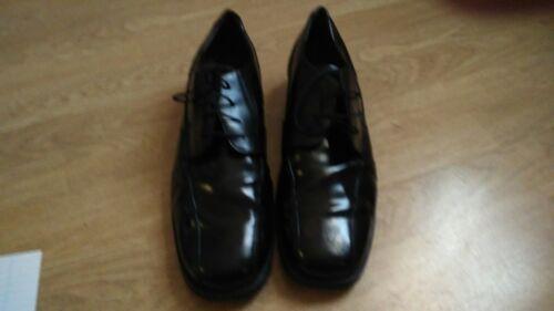 Scarpe pelle usurate in da Condizioni nera passeggio Fqa7F