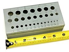 HUOT NUMBER DRILL INDEX STAND NO NEW 860 #60-#1