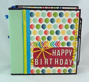 Happy Birthday Pocket Mini Interactive Flip Album Scrapbook Ebay