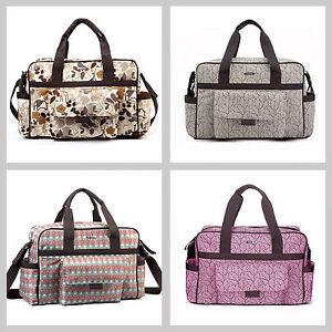 Designer-Baby-Changing-Bags-Fashion-Diaper-Bag-Set-Luxury-Nappy-Bag-3Pcs