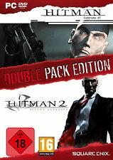 HITMAN Double Pack -  HITMAN 47 & HITMAN 2 Silent - USK 18 - PC - NEU & OVP