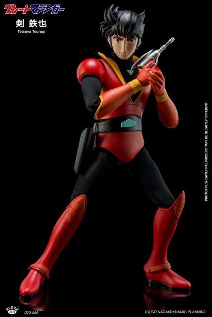 King Arts 22cm Diecast Tetsuya Tsurugi Movable Figures Collection Toys DFS069
