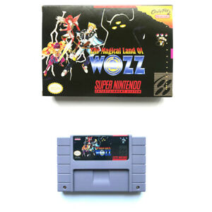 The Magical Land of WOZZ for snes game english translated