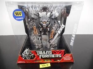 Finition métallique de Transformers Megatron Limited Edition! Exclusivité Best Buy 49-5 653569286868