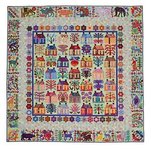 Kim Mclean Quilt Patterns.Details About Village Applique Quilt Pattern By Kim Mclean
