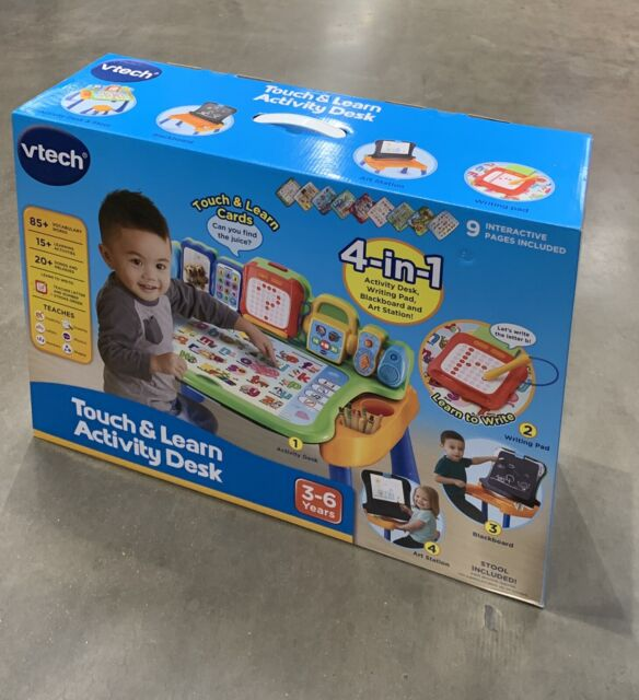 Vtech Touch and Learn Activity Desk - Touch, Draw, Learn and Write