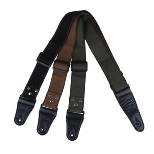 Adjustable-Pure-Cotton-Guitar-Strap-for-Acoustic-Electric-Bass-Guitar-Musical-YK