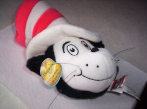 Vintage Talking Cat In The Hat Throw Toy Ebay